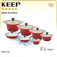Ceramic Pot Set-14 PCS
