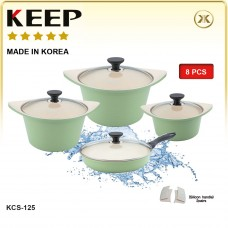 Ceramic Pot Set-8 PCS